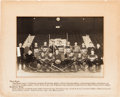 Hockey Collectibles:Photos, 1927-28 New York Americans Original Oversized Photograph....