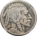Buffalo Nickels, 1916 5C Doubled Die Obverse VG8 NGC. FS-101....