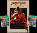 "Movie Posters:Adventure, Indiana Jones Lot (Various, 1984-1989). Paperback Books (6) (4.5"" X7""), Poster Magazines (3) 8"" X 11""), Paperback Screenpla... (Total:13 Items)"
