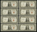 Small Size:World War II Emergency Notes, Fr. 2300 $1 1935A Hawaii Silver Certificates. Nineteen ConsecutiveExamples. Very Choice Crisp Uncirculated.. ... (Total: 19 notes)