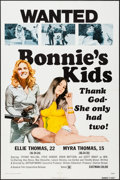 "Movie Posters:Bad Girl, Bonnie's Kids & Other Lot (General Film, 1973). One Sheet (27""X 41"") & Photos (3) (8"" X 10""). Bad Girl.. ... (Total: 4 Items)"