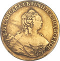 Russia, Russia: Elizabeth 5 Roubles 1756 Moscow Mint,...