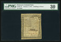 Colonial Notes:Delaware, Delaware January 1, 1776 2s 6d PMG Very Fine 30.. ...