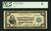 Fr. 828 $20 1915 Federal Reserve Bank Note PCGS Fine 15