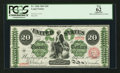 Large Size:Legal Tender Notes, Fr. 126b $20 1863 Legal Tender PCGS Apparent New 62.. ...