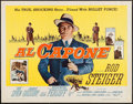 "Movie Posters:Crime, Al Capone (Allied Artists, 1959). Half Sheet (22"" X 28"") Style A. Crime.. ..."