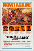 "Movie Posters:Western, The Alamo (United Artists, R-1967). One Sheet (27"" X 41""). Western.. ..."