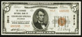 National Bank Notes:Colorado, Colorado Springs, CO - $5 1929 Ty. 2 The Exchange NB Ch. # 3913....