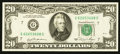 Error Notes:Miscellaneous Errors, Fr. 2073-G $20 1981 Federal Reserve Note. About Uncirculated.. ...