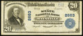 National Bank Notes:Kentucky, Maysville, KY - $20 1902 Plain Back Fr. 660 The State NB Ch. #2663. ...