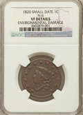 1820 1C Small Date -- Environmental Damage -- NGC Details. VF. N-6. NGC Census: (0/0). PCGS Population (1/33). Nu...(PCG...