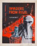 Original Comic Art:Miscellaneous, Ed Emshwiller (Emsh) Invaders From Rigel Cover PreliminaryArtwork Original Art (c. 1960s)....