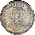 South Africa, South Africa: Republic 5 Shillings 1892 Double Shaft,...