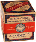 Autographs:Baseballs, 1928-31 Official American League (Barnard) Baseball in Box....