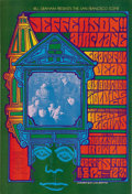 Music Memorabilia:Posters, Jefferson Airplane/Grateful Dead/Big Brother and the HoldingCompany Hollywood Bowl Concert Poster BG-81 (Bill Graham, 1967)....(Total: 1 Item)