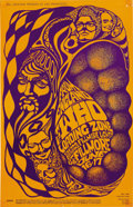 Music Memorabilia:Posters, The Who Fillmore Concert Poster BG-68 (Bill Graham, 1967). PeteTownsend and company barreled through San Francisco like a ...(Total: 1 Item)