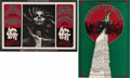 Music Memorabilia:Posters, Country Joe and the Fish and Joe Cocker Fillmore West ConcertPoster BG-195 and BG-196 Group (Bill Graham, 1969). Two attra...(Total: 2 Items Item)