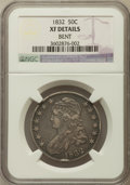 Bust Half Dollars, 1832 50C Small Letters -- Bent -- NGC Details. XF. NGC Census:(123/1738). PCGS Population (220/1679). Mintage: 4,797,000. ...