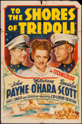 """Movie Posters:War, To the Shores of Tripoli (20th Century Fox, 1942). One Sheet (27"""" X41""""). War.. ..."""