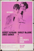"Movie Posters:Drama, The Children's Hour (United Artists, 1962). One Sheet (27"" X 41"").Drama.. ..."