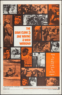 """Having A Wild Weekend (Warner Brothers, 1965). One Sheet (27"""" X 41""""). Rock and Roll"""