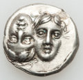 Ancients:Greek, Ancients: MOESIA. Istrus. 4th Century BC. AR drachm (5.43gm). ...