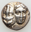 Ancients:Greek, Ancients: MOESIA. Istrus. 4th Century BC. Lot of two (2) ARdrachms. ... (Total: 2 coins)