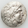Ancients:Greek, Ancients: MACEDONIAN KINGDOM. Alexander III the Great (336-323 BC).Lot of two (2) late posthumous tetradrachms.... (Total: 2 coins)