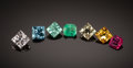 Gems:Faceted, GEMSTONE SUITE: BERYLS IN ALL COLORS. ...