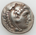 Ancients:Greek, Ancients: MACEDONIAN KINGDOM. Alexander III the Great (336-323 BC).Lot of two (2) posthumous AR tetradrachms.... (Total: 2coins)