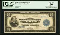 Fr. 827 $20 1915 Federal Reserve Bank Note PCGS Apparent Very Fine 20