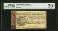 Colonial Notes:Continental Congress Issues, Continental Currency May 10, 1775 $20 PMG Very Fine 20 Net.. ...