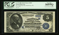 National Bank Notes:Wisconsin, Fond Du Lac, WI - $5 1882 Value Back Fr. 574 The Commercial NB Ch. # (M)6015. ...