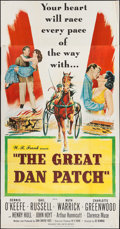 "Movie Posters:Drama, The Great Dan Patch (United Artists, 1949). Three Sheet (41"" X 79""). Drama.. ..."