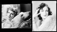 """Juliette Compton & Other Lot (Paramount, 1930s). Nitrate Negatives (3) (7.75"""" X 9.75""""). Miscellaneous..."""
