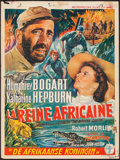 "Movie Posters:Adventure, The African Queen (Metropolitan Films, 1952). Trimmed Belgian (14"" X 19""). Adventure.. ..."