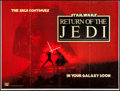 "Movie Posters:Science Fiction, Return of the Jedi (20th Century Fox, 1983). British Quad (31"" X41"") Advance. Science Fiction.. ..."