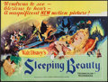 "Movie Posters:Animation, Sleeping Beauty (Walt Disney Productions Limited, 1959). BritishQuad (30"" X 40""). Animation.. ..."
