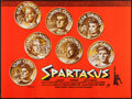 "Movie Posters:Action, Spartacus (Universal International, 1960). British Quad (30"" X40""). Action.. ..."