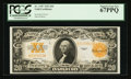 Large Size:Gold Certificates, Fr. 1187 $20 1922 Gold Certificate PCGS Superb Gem New 67PPQ.. ...