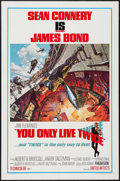 "Movie Posters:James Bond, You Only Live Twice (United Artists, 1967). One Sheet (27"" X 41"")Style A. James Bond.. ..."