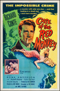 """Movie Posters:Mystery, The Case of the Red Monkey (Allied Artists, 1955). One Sheet (27"""" X 41""""). Mystery.. ..."""
