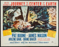 "Movie Posters:Science Fiction, Journey to the Center of the Earth (20th Century Fox, 1959). HalfSheet (22"" X 28""). Science Fiction.. ..."