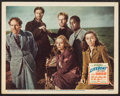 """Movie Posters:Hitchcock, Lifeboat (20th Century Fox, 1944). Lobby Card (11"""" X 14""""). Hitchcock.. ..."""