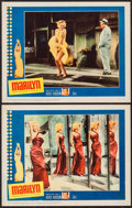 "Movie Posters:Documentary, Marilyn (20th Century Fox, 1963). Lobby Cards (2) (11"" X 14""). Documentary.. ... (Total: 2 Items)"