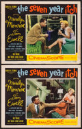"Movie Posters:Comedy, The Seven Year Itch (20th Century Fox, 1955). Lobby Cards (2) (11""X 14""). Comedy.. ... (Total: 2 Items)"