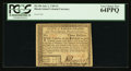 Colonial Notes:Rhode Island, Rhode Island July 2, 1780 $3 PCGS Very Choice New 64PPQ.. ...