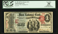 National Bank Notes:Pennsylvania, Columbia, PA - $1 1875 Fr. 384 The First NB Ch. # 371. ...