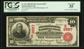 National Bank Notes:Pennsylvania, Philadelphia, PA - $10 1902 Red Seal Fr. 615 The Fourth Street NBCh. # (E)3557. ...