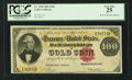 Large Size:Gold Certificates, Fr. 1208 $100 1882 Gold Certificate PCGS Very Fine 25.. ...